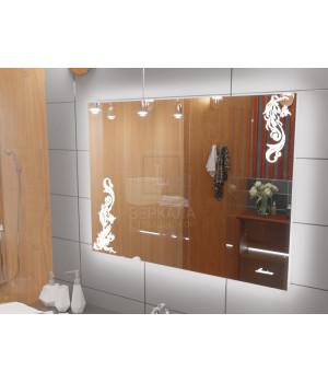 Зеркало с подсветкой для ванной комнаты Венеция